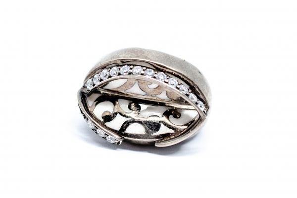 Inel din Argint cu Zirconii 0